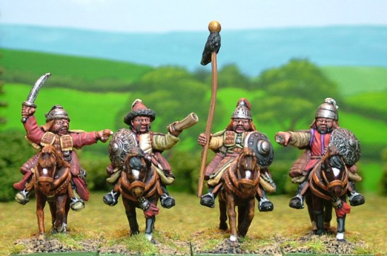 MO18 Heavy cavalry command on unarmoured horses.