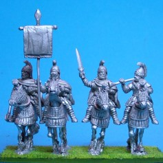 Cataphracts Half Barding Command
