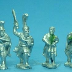 Hoplite, bell cuirass, advancing command.