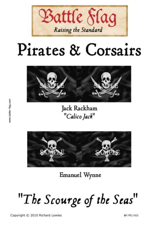 "Pc/002 Jack Rackham ""Calico Jack, Emanuel Wynne"