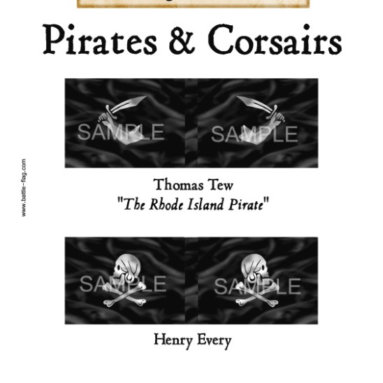 "PC/003 Thomas Tew ""The Rhode Island Pirate"", Henry Every"