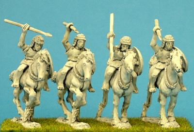 28mm numidian light cavalry miniatures
