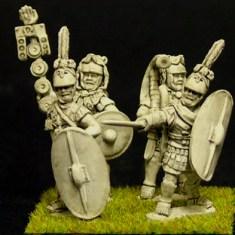 Dismounted Generals.