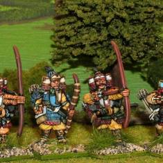 28mm Samurai archers.