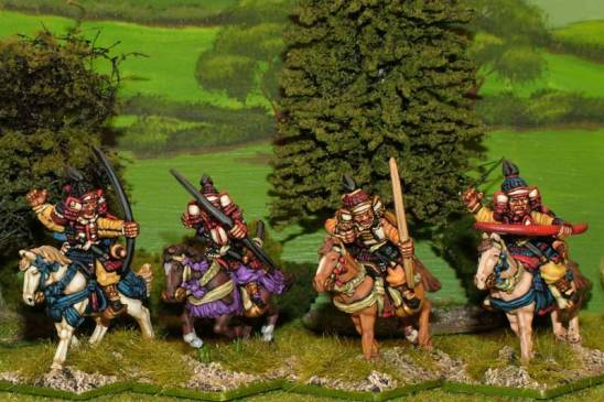 28mm Mounted Samurai archers.