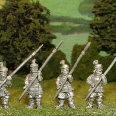 28mm samurai retainers with yari.