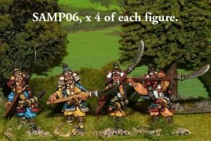 SAMP06 Samurai with naginata.