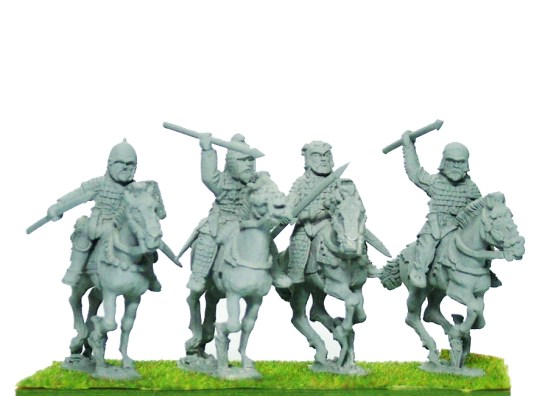 Noble Cavalry I, Lance Unbarded Horse.