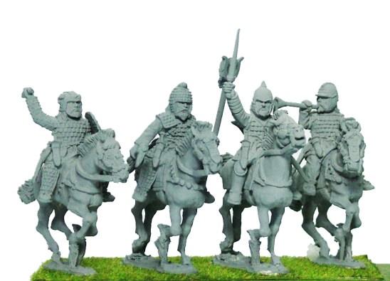 Noble Cavalry Command I, Unbarded Horse.