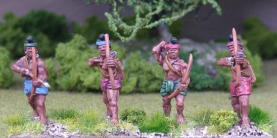 28mm burmese thai levy archers
