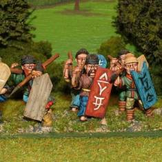 SU08 Unarmoured spearmen.