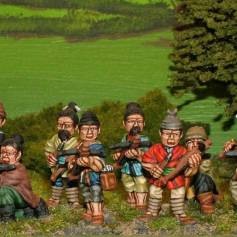 SU14 Unarmoured crossbowmen.