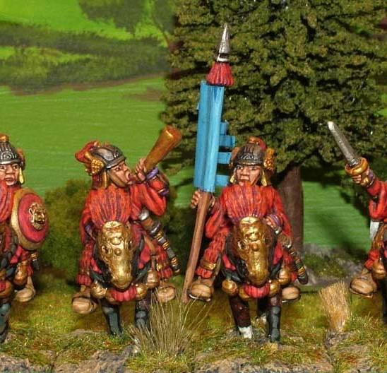 SU25 Heavy cavalry command.