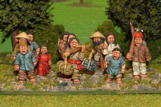 SU31 28mm Chinese Peasants .