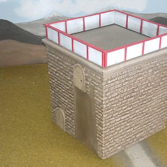 SV04 Corner tower.