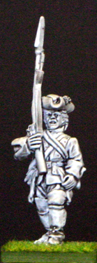 28mm seven years war british infantry marching.