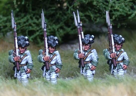 7YW07 French marching