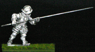 28mm armoured thirty years war Pike men