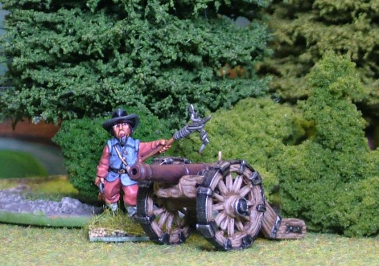 28mm thirty years war Leather or Light Gun.
