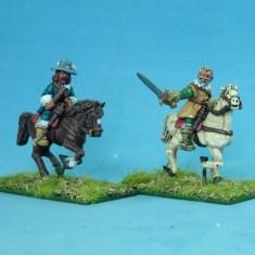 Mounted senior officers I