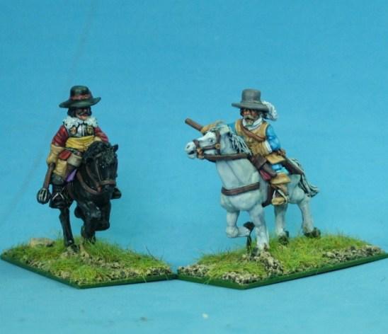 28mm Thirty Years War Mounted senior officers