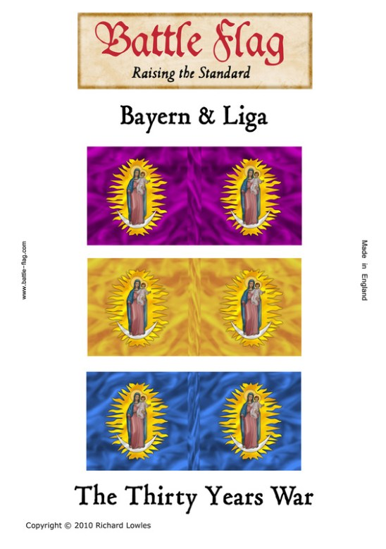 Bayern & Liga Virgin with Child Banners