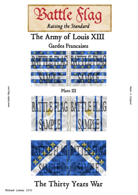 Gardes Francaises (Plate III)