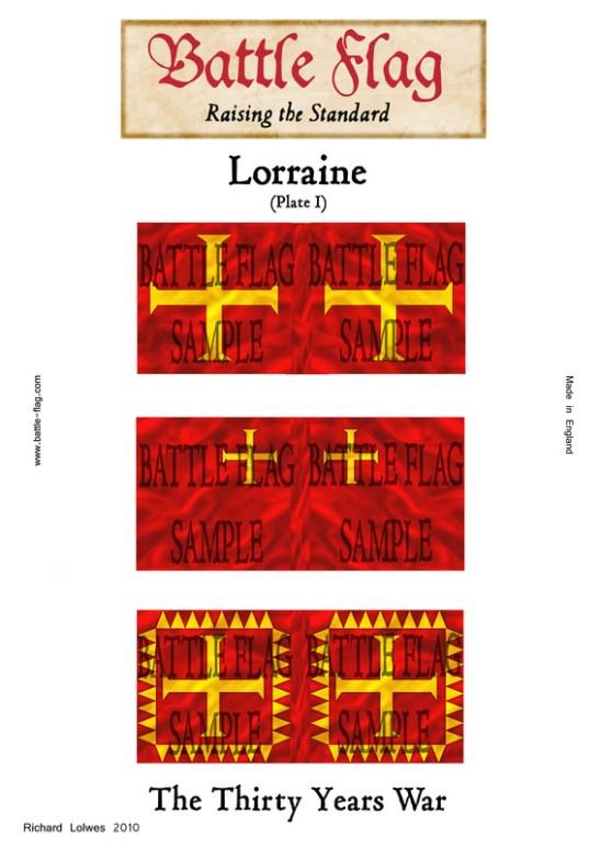 Duchy of Lorraine Plate I
