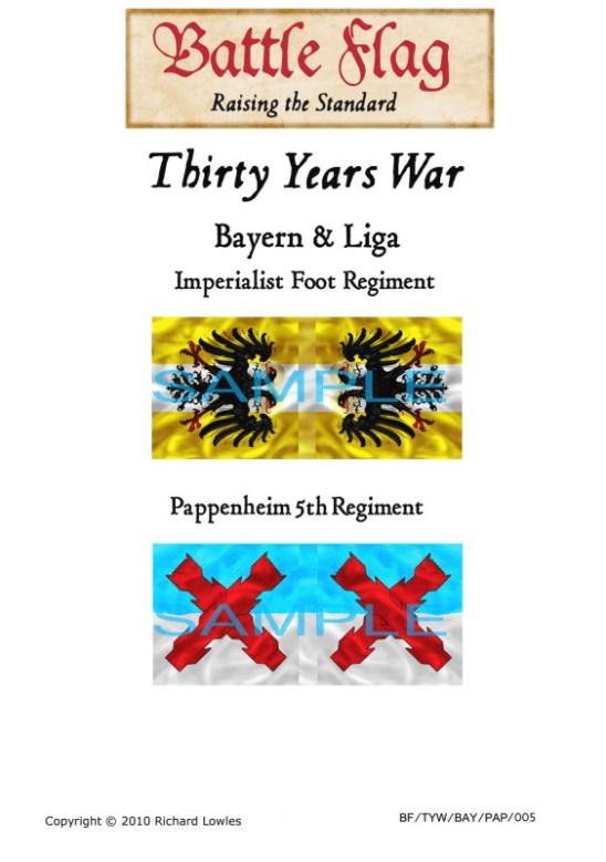 TYW/BAY/PAP/005 Bayern & Liga