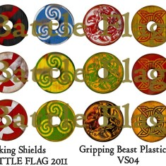 VS04 28mm Viking Shield designs