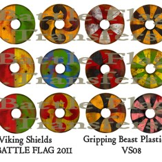 VS08 28mm Viking Shield Designs