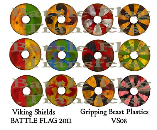 VS08 28mm Viking Shield Designs