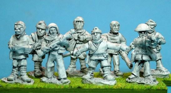 28mm ww1 british Trench raiders.