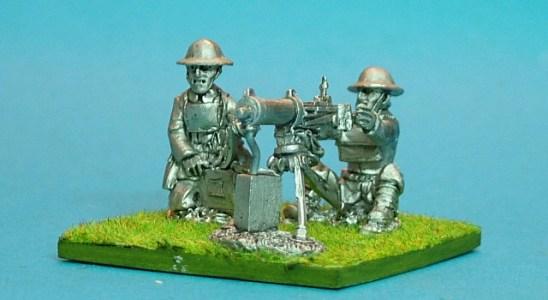 28mm british Vickers machine gun