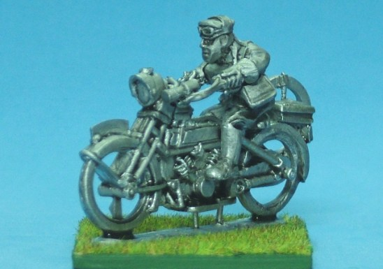 Motorbike and despatch rider