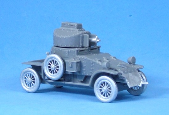 Lanchester Armoured Car V2