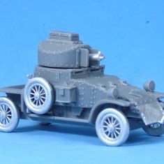 Lanchester Armoured Car V2