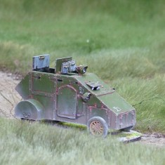 28mm 1/48 yeomanry armoured car