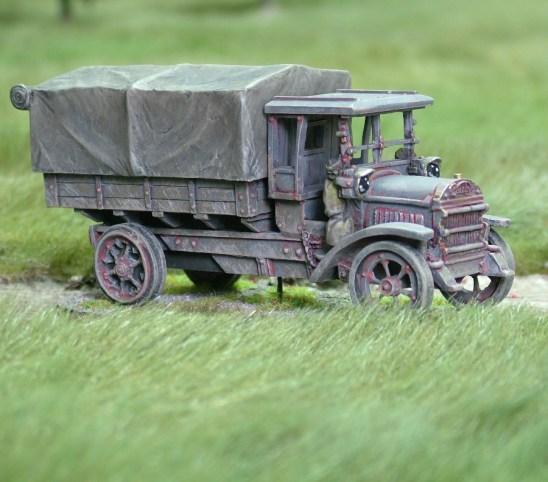 28mm 1/48 ww1 daimler truck