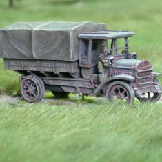 28mm 1/48 ww1 daimler truck