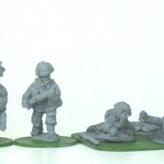 "28mm ww2 british paratroops with 2""mortars."