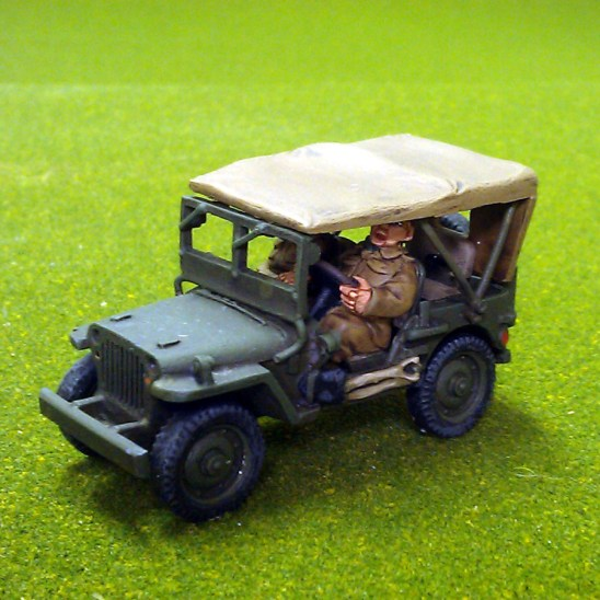 British air landed jeep.