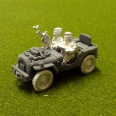 Single Vickers air landed recce jeep.