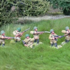 28mm wwr Russian rifle squad 3