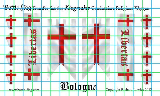 Religious Waggon Transfer set Bologna
