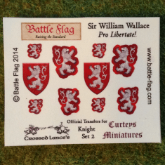 William Wallace decals