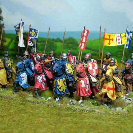 28mm medieval crusader knights