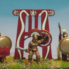 28mm ancient greek spartan