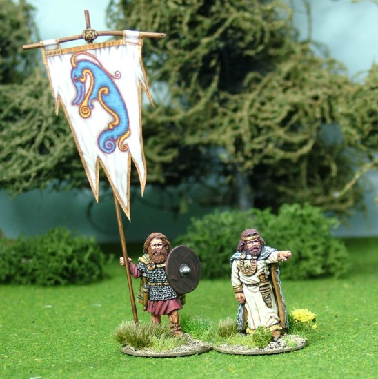 28mm pictish chieftan