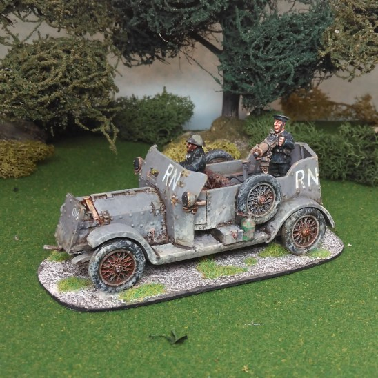 28mm Rolls Royce armoured car
